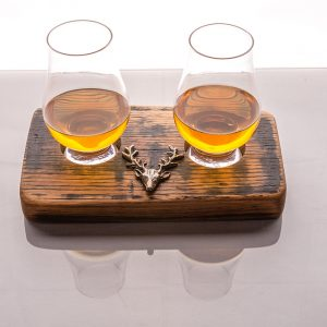 Dram for 2 stag gift set