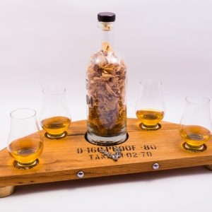 Lewis stag whisky gifts set